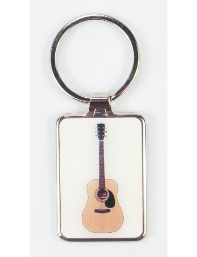 Keyring Guitar metal