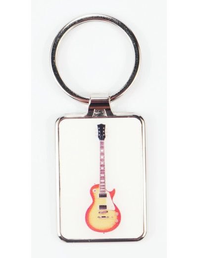 Keyring Electric Guitar metal