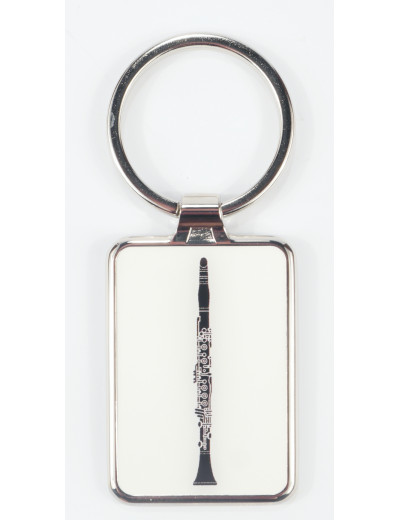 Keyring clarinet metal...