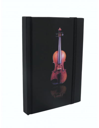 Notebook violin A6 / 96 sheets
