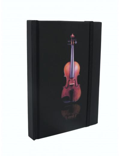Notizbuch Geige A6 / 96 Seiten