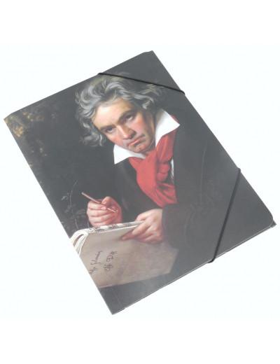 Gummizugmappe ''Beethoven'' A4