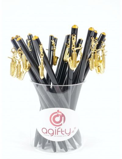 Kugelschreiber mit Sax...