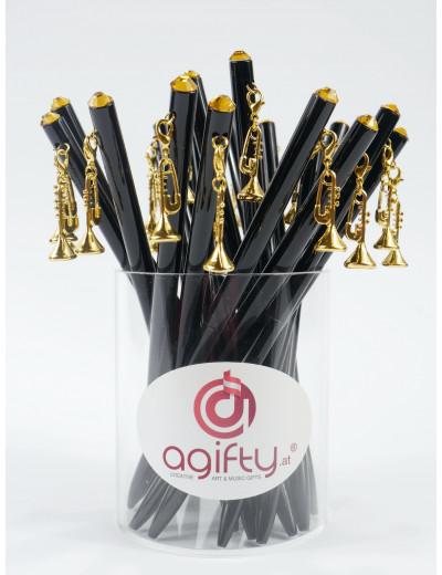 Kugelschreiber mit Trompete...