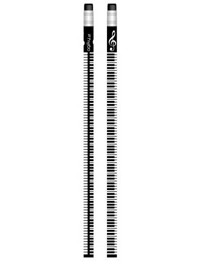 Pencil keyboard black