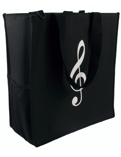 Stand's bag ''compact to go'' black 40*44H*20 cm