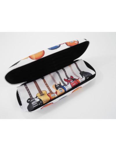 Spectacle case set guitars