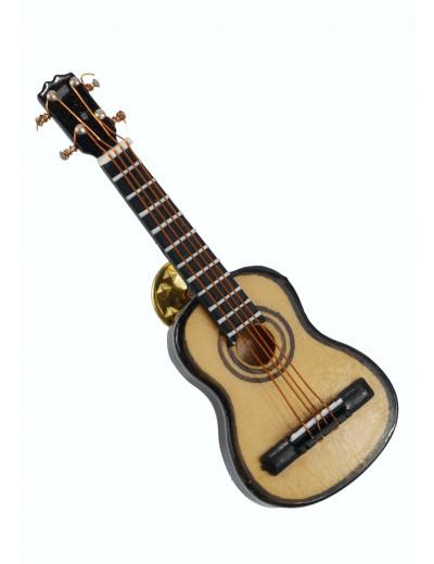 Miniature pin guitar 7 cm...