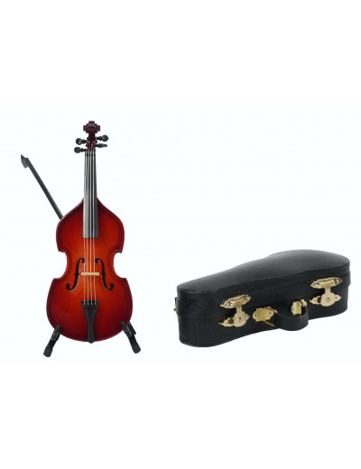 Double bass with arc with...