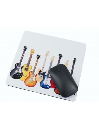 Mouse pad guitars