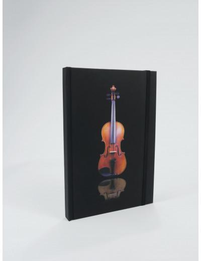 Notizbuch Geige A5 / 96...