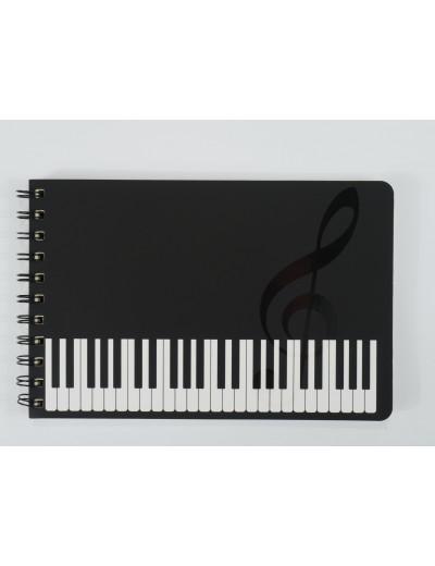 Spiral notebook keyboard A5