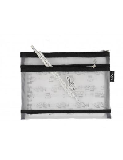 Stationery kit: sheet music...
