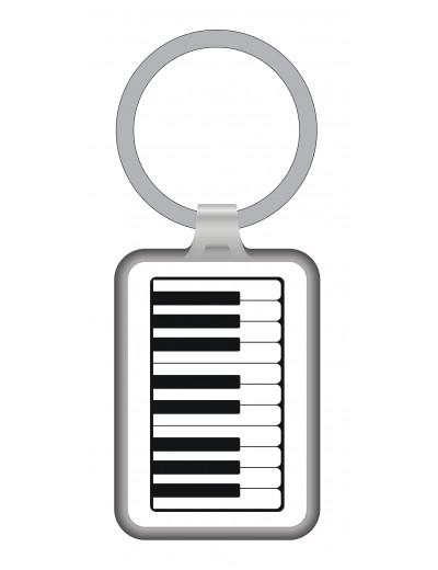 Keyring keyboard metal