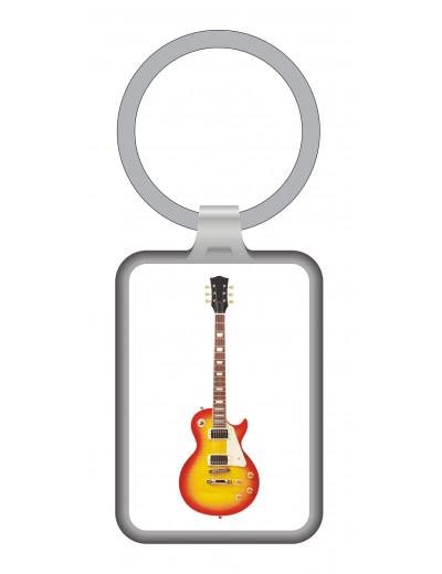 Keyring Electric Guitar metal