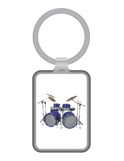 Keyring drum metal 7,5*3 cm