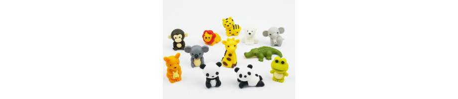 Zoo Erasers