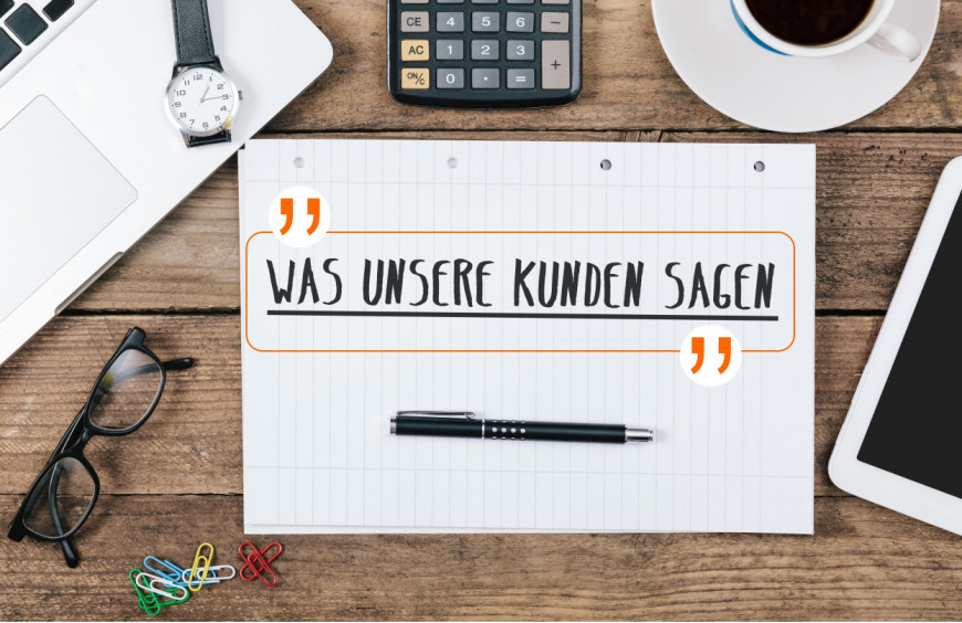 Our German Customer Says: